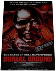 BURIAL GROUND - Poster 42x29,5 cm