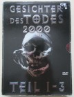 Gesichter des Todes 2000 Teil 1-3 - DVD - Uncut - Digipak