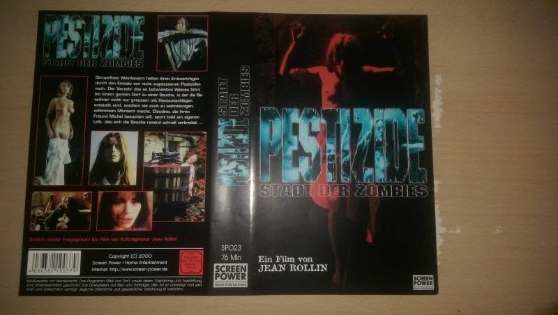 --- PESTIZIDE - STADT DER ZOMBIES / ORIGINAL COVER ---
