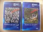 Bayerischer Rundfunk VHS Franken aus der Luft 1 und 2