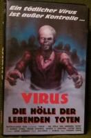 Virus - Die Hölle der lebenden Toten Directori Uncut VHS