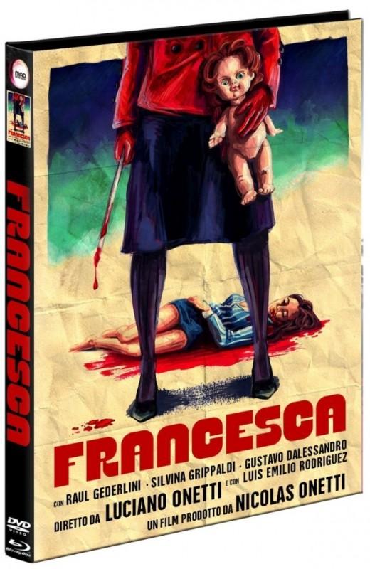Francesca - DVD/BD Mediabook LE OVP