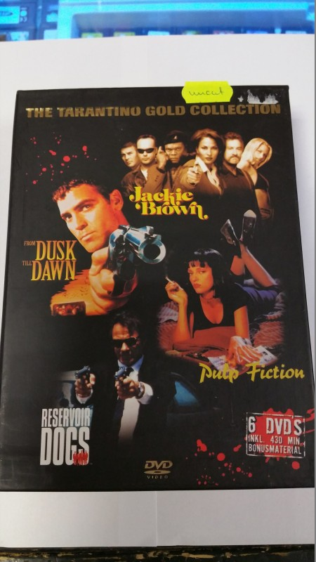 Tarantino Gold Collection 6xDVDs 4Filme 430min ab18Jahre