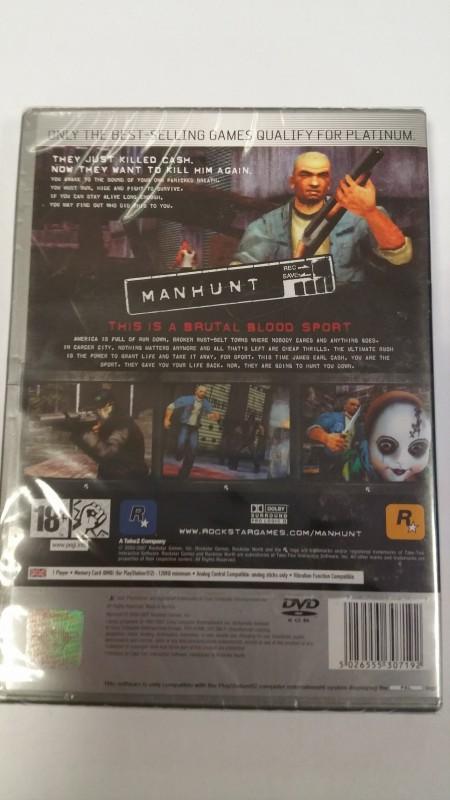 Manhunt PS2 NEU und Verschweisst Pegi Version Sammlerstück
