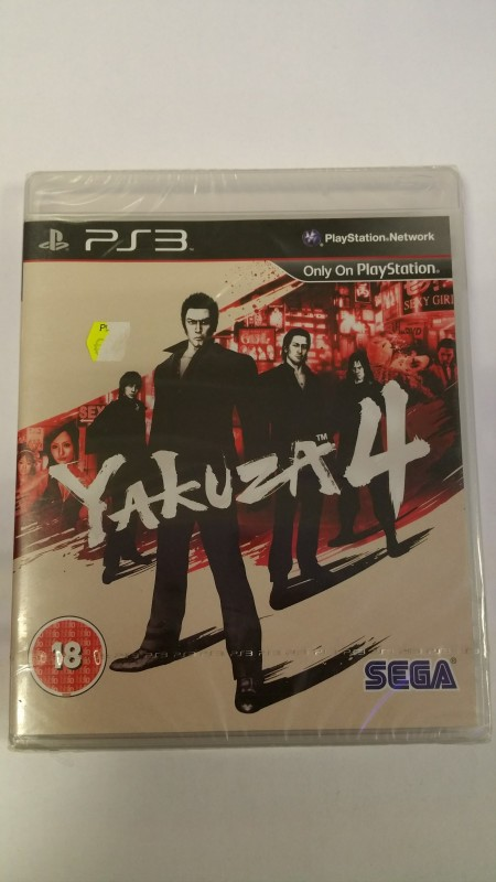 yakuza 4 ps3 playstation3 sega neu verschweisst sammler. Black Bedroom Furniture Sets. Home Design Ideas
