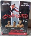 Shootfighter 1 +2 - 3D-Future-Steelbook, UNCUT, DEUTSCH, NEU