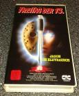 Freitag der 13. - Jason im Blutrausch - VHS - PAL - CIC