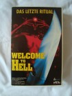 VHS Welcom to Hell Das Letzte Ritual 90 min  Silent Night