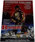 RAMBO - First Blood - Poster 42x29,5 cm