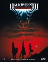 Halloween 3 Mediabook Cover A uncut NSM 3 Disc neuwertig