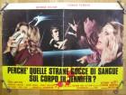 Das Geheimnis der blutigen Lilie, Original Fotobusta, Plakat