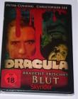 Dracula braucht frisches Blut DVD - Neu - mit Ch. Lee -