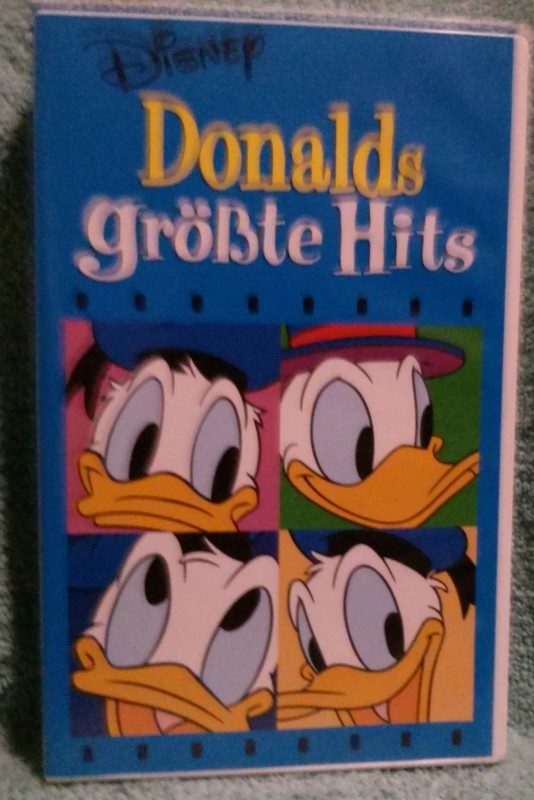 Donald größte Hits VHS Disney