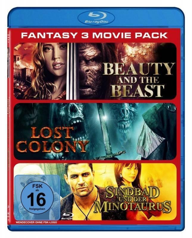 Fantasy - 3 Movie Pack [Blu-ray] OVP