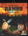 RAMBO Trilogy - Blu-ray uncut 3 Discs Stallone Klassiker