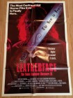 Leatherface - The Texas Chainsaw Massacre - Filmplakat 1990
