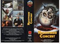 NIGHTMARE CONCERT - Lucio Fulci - SUMMIT VIDEO VHS