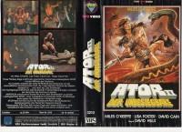 ATOR 2 - DER UNBESIEGBARE - VPS gr.Cover VHS