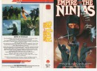 EMPIRE OF THE NINJAS - ARROW gr.Cover VHS