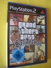PS2  Grand Theft Auto San Andreas mit Handbuch