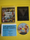 PS3 Grand Theft Auto V  GTA V  Stadtkarte, Handbuch USK18