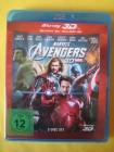 Marvel's The Avengers Blu-ray 3D und 2D 2-Disc Set Wie neu!
