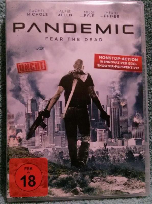PANDEMIC Dvd Uncut FSK 18 (H)