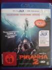 BLU RAY Piranha 2 - 3D - uncut NEU/OVP