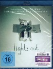 LIGHTS OUT Blu-ray - Top Schock Mystery Horror Conjuring