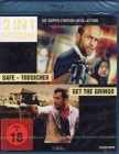 SAFE Todsicher + GET THE GRINO 2x Blu-ray Statham Mel Gibson