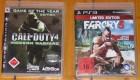 Call of Duty 4 Modern Warfare + Far Cry 3 (Playstation 3)