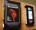 Halloween (1978) VHS Video Zweitauflage Warner 1984