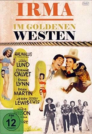 3x Jerry Lewis - Irma im goldenen Westen -  DVD