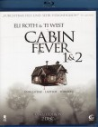 CABIN FEVER 1 & 2 Blu-ray - uncut Edition Eli Roth Ti West