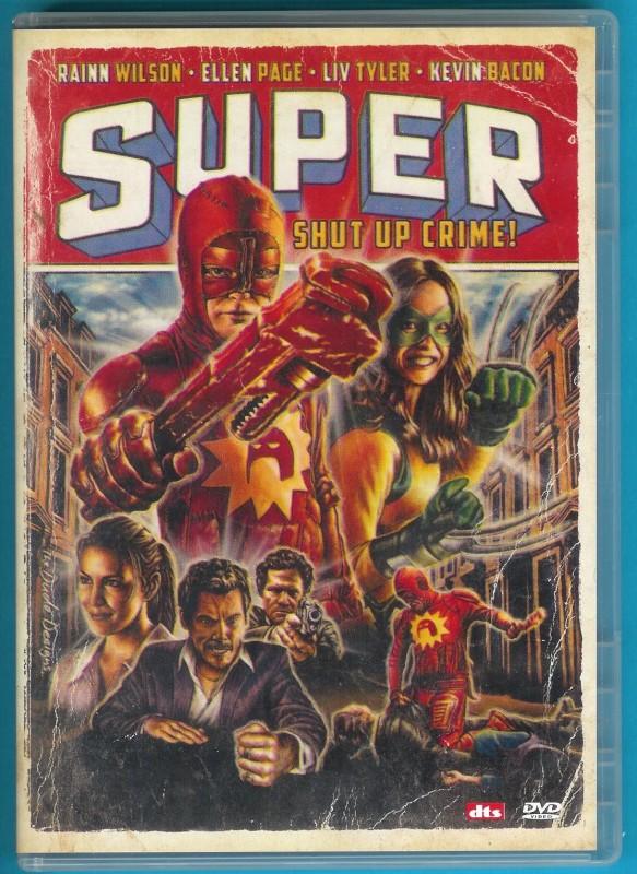 Super - Shut Up, Crime! DVD Liv Tyler, Ellen Page g. gebr. Z