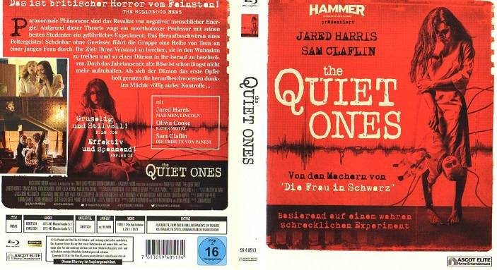 THE QUIET ONES - HAMMER Präsentiert - ASCOT  Blu-ray
