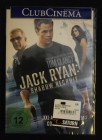 Jack Ryan: Shadow Recruit - DVD - Costner Knightley Pine NEU