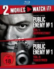Public Enemy No. 1 Teil 1+2 / Blu-Ray / Uncut
