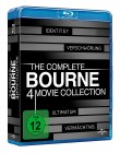 The Complete Bourne 4 Movie Collection / Blu-Ray / Uncut