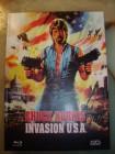 INVASION U.S.A. BLU RAY/DVD MEDIABOOK UNCUT