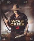 Mediabook Wolf Creek 2 - 3Disc Lim Ed BD Uncut #3000/3000