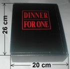 DINNER FOR ONE - Sonderedition - Große Box ( 26x20 ) + Extra