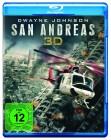 San Andreas ( Dwayne Johnson ) ( Blu-Ray 3D + Blu-Ray ) OVP