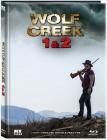 Wolf Creek 1&2 - Mediabook lim. 1000 (Blu Ray) XT NEU/OVP