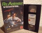 VHS - Re-Animator - Lightning
