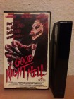 Good Night Hell  UNCUT ----------MGM/UA VIDEO----------VHS