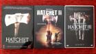 Hatchet 1-3 UNCUT Steelbooks