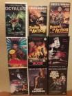 9 mal VHS-Missing in Action 1+2 ,Octalus,Schatten des Shogun
