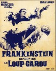 FRANKENSTEIN MEETS THE WOLF MAN Blu-ray Import Bela Lugosi