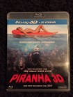 Piranha 3 D + 2 D Version - Blu Ray -Uncut Top!